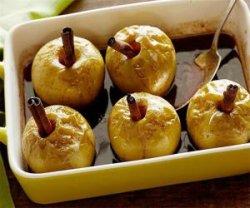 Блюда из зеленых яблок