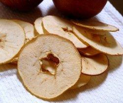 Сушка яблок в микроволновке
