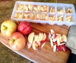 Способы заморозки яблок